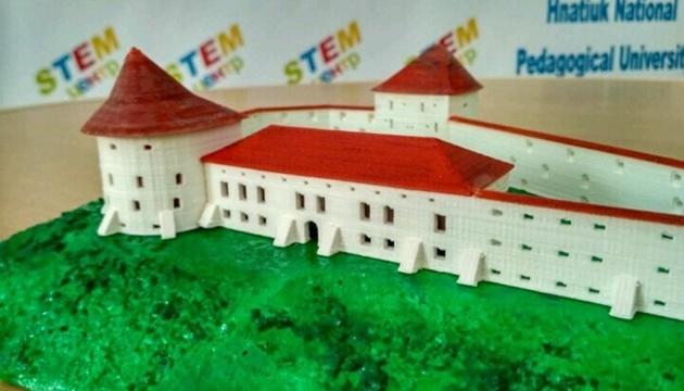 Тернопільщина покаже свої замки в форматі 3D