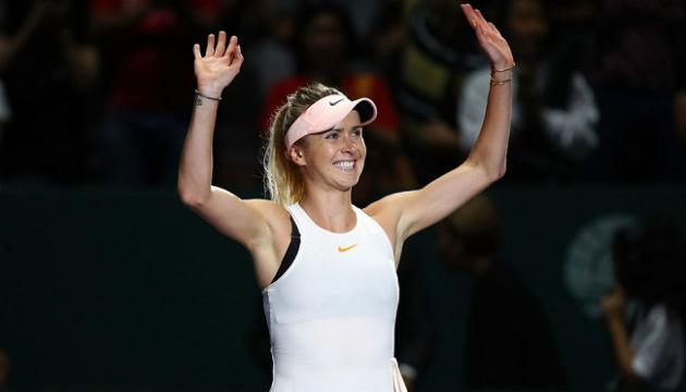 Світоліна в Римі готується до старту на турнірі WTA Premier 5