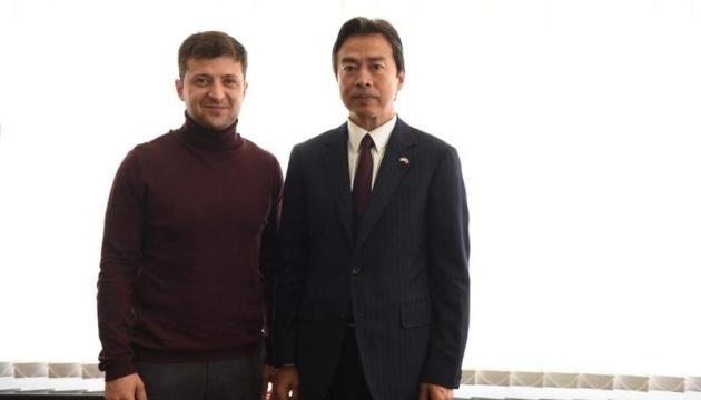 Selenskyj trifft sich mit Botschafter Chinas