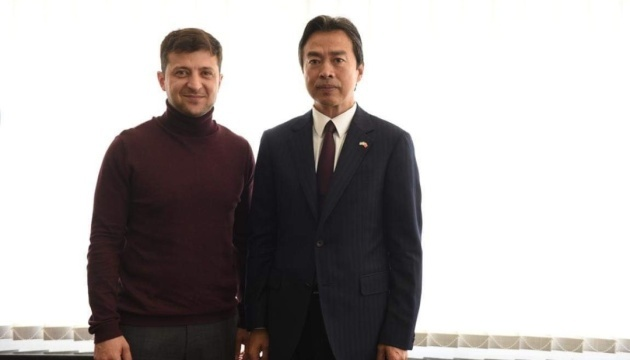 Zelensky meets with Chinese ambassador to Ukraine