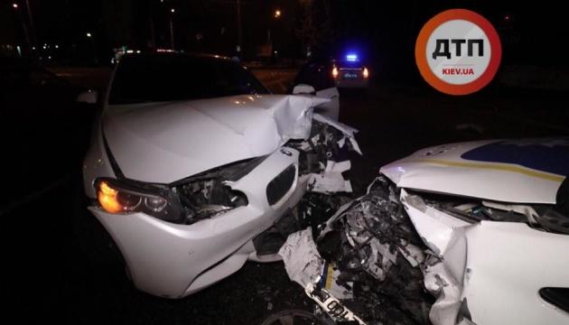 ДТП із патрульним авто в Києві: Держбюро розслідувань розповіло подробиці