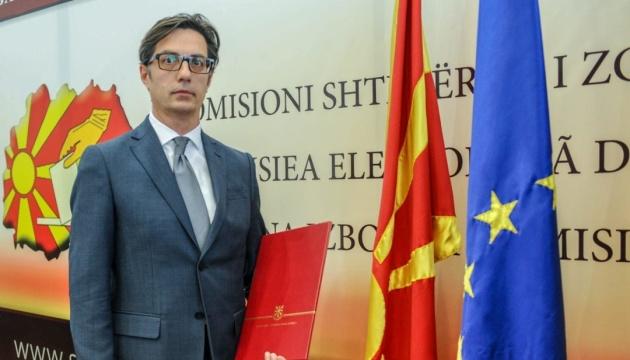 Курс на ЕС и НАТО - приоритет для нового президента Северной Македонии