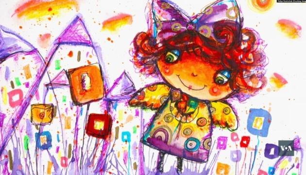 Українка зі США малює янголів, допомагаючи дітям в Чернівцях