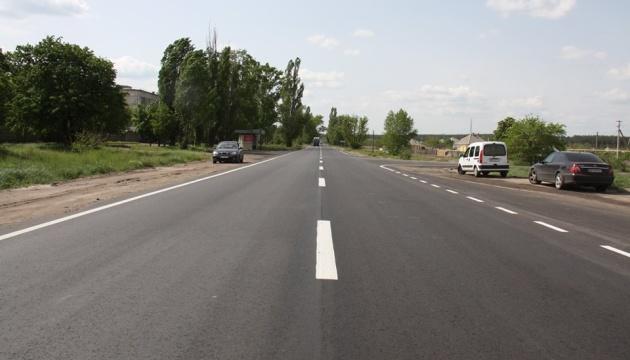 На Луганщине завершили ремонт дороги от Рубежного до Северодонецка