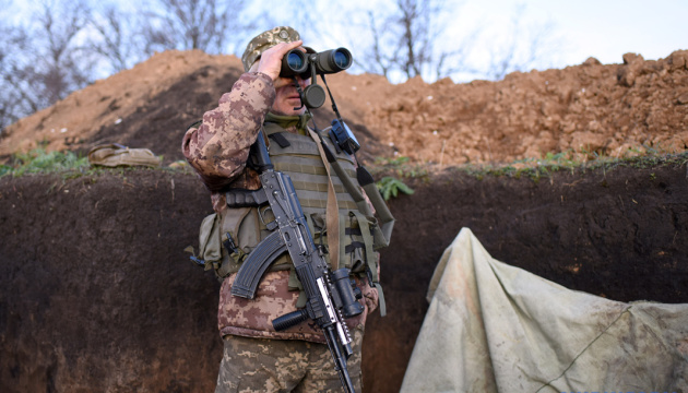 Russian-led forces fire banned weapons in Donbas, no casualties reported