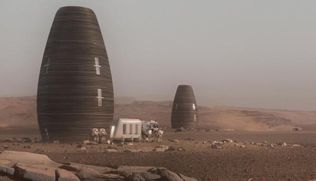 На 3D-принтері надрукували будинок для життя на Марсі