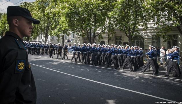 Екс-командувач ЧФ РФ чотири рази помилково привітав моряків