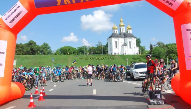 Відкритий Кубок із велоспорту на шосе пройшов на Чернігівщині