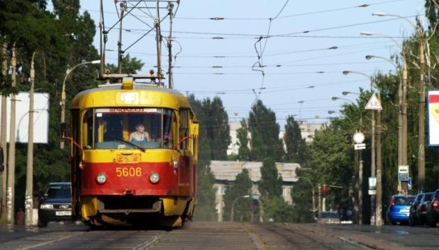 У Києві на одну ніч скоротять час роботи двох трамваїв