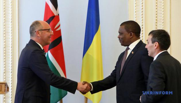 Парубій закликає парламент Кенії визнати Голодомор геноцидом