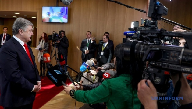 Порошенко запевнив НАТО, що Україна не змінить курс до Альянсу