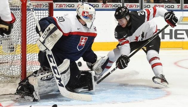 Чемпіонат світу з хокею: Словаччина програла Канаді, Швеція розгромила Норвегію
