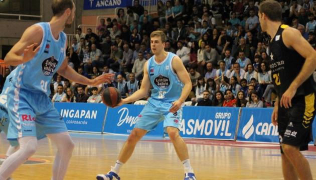 Український баскетболіст Герун став найціннішим гравцем туру в Іспанії