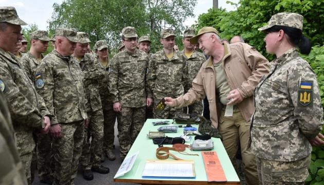 В Києві стартували навчання бригади тероборони