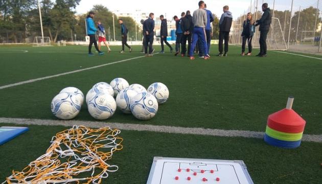В Одесской области за год построили 14 футбольных площадок и 3 поля