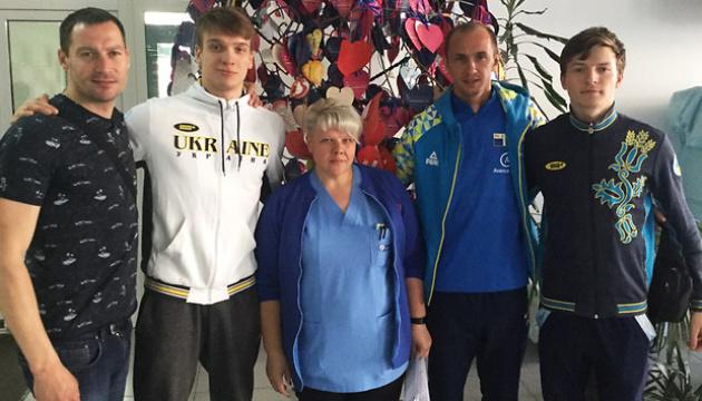 Украинские шпажисты присоединились к программе НОК по медобследованию