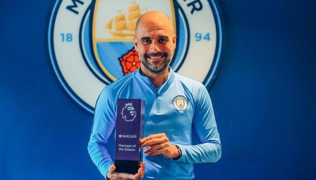Хосеп Гвардіола — кращий тренер сезону-2018/19 в АПЛ
