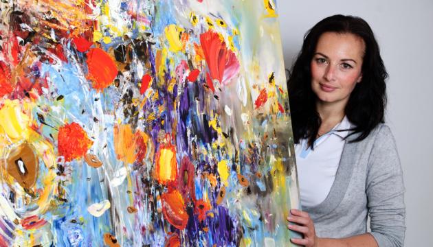 У Будапешті відкривається виставка робіт української художниці Олесі Гудими