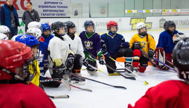 У Кременчуці відбувся відкритий майстер-клас із хокею від УХЛ