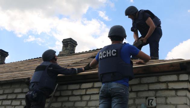 У Мар'їнці та Красногорівці відновили 171 будинок, пошкоджений обстрілами