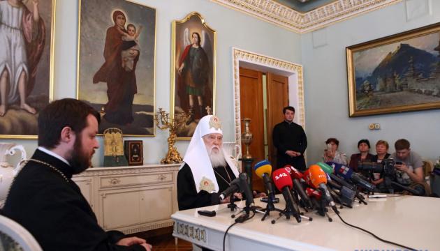 Филарет подтвердил желание восстановить Киевский патриархат