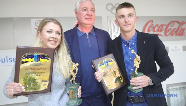 Джима і Підручний отримали від НОК України нагороди кращим спортсменам місяця