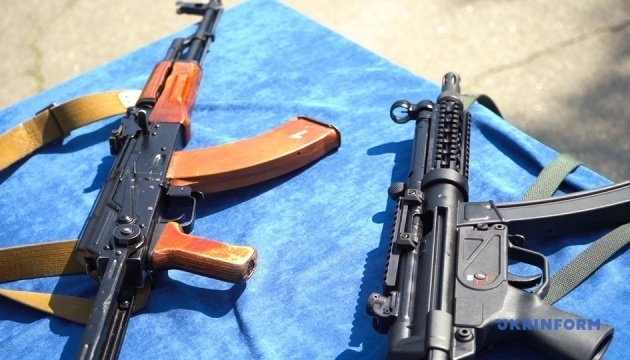New submachine guns for police officers presented in Kyiv