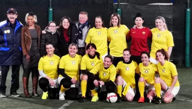 У Ватикані з благословення Папи Римського створили жіночу футбольну команду
