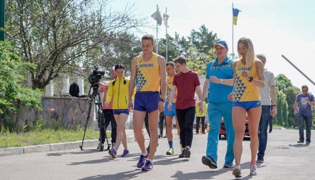 Збірна України з ходьби провела відкрите тренування перед Кубком Європи-2019
