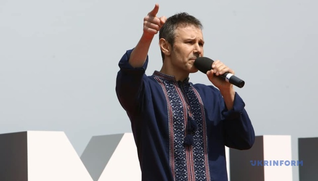 Vakarchuk presents party to participate in parliamentary elections