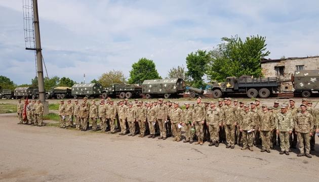 На Одещині зустріли військових зенітно-ракетної бригади із зони ООС