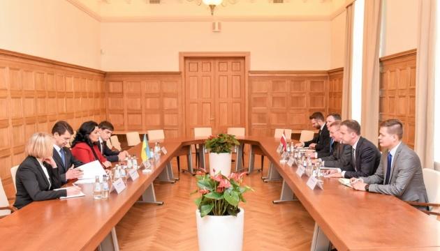 Латвія продовжить допомагати Україні з реформами — Рінкевічс