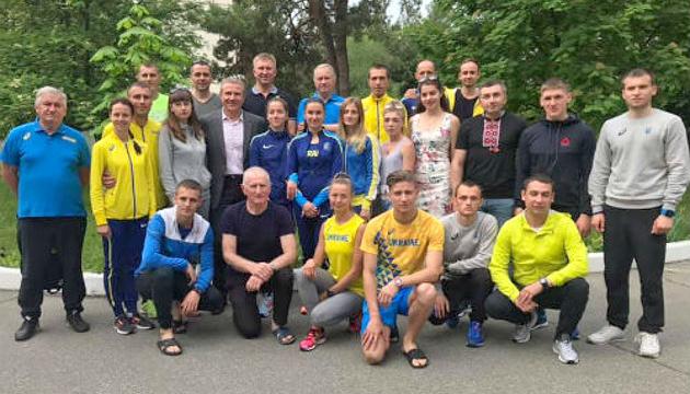 Бубка і Гоцул провели збірну України на Кубок Європи зі спортивної ходьби