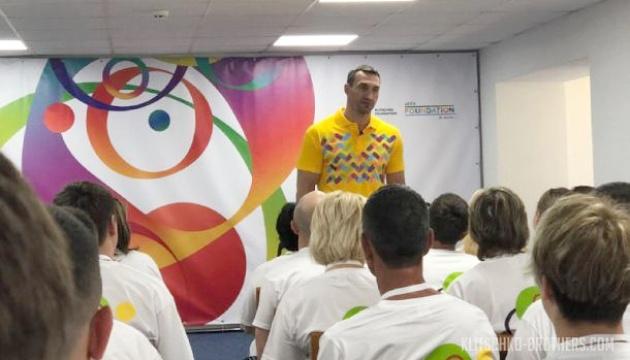 Володимир Кличко прочитав лекцію українським вчителям фізкультури