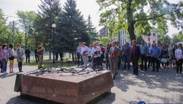 У Маріуполі вшанували пам'ять жертв політичних репресій