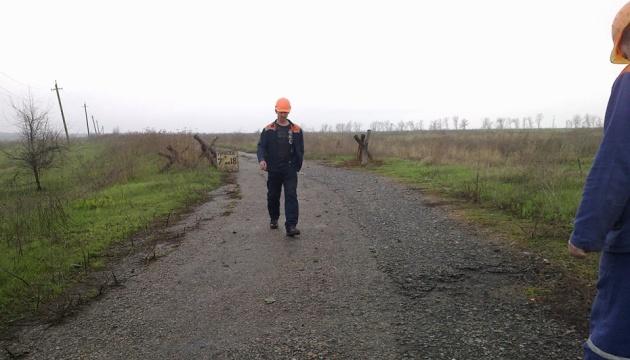 У прифронтову Катеринівку повернули світло