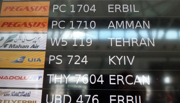 Два аеропорти Туреччини почали писати Kyiv замість Kiev