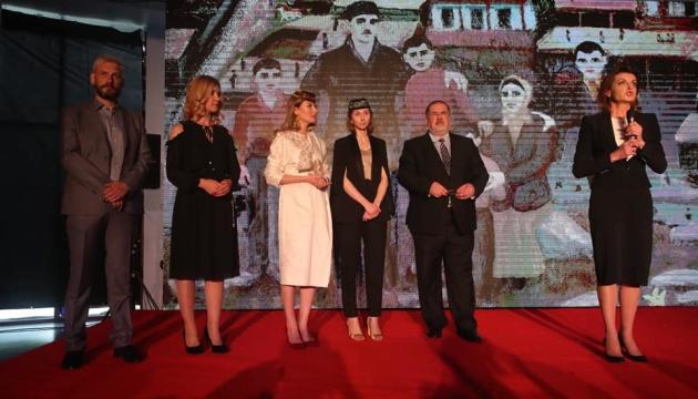 Марина Порошенко відвідала прем'єру фільму «1944»