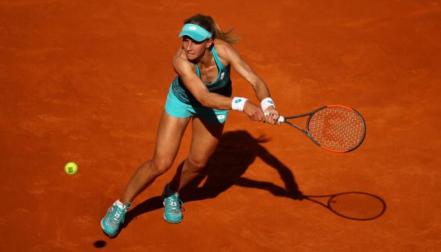 Теніс: Цуренко завершила виступ у Римі на стадії 1/4 фіналу парного розряду