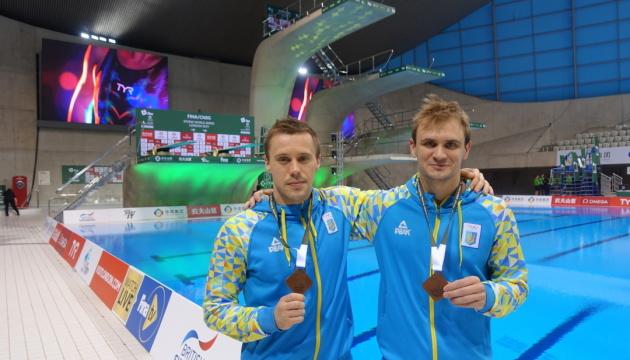 Украинские прыгуны в воду завоевали «бронзу» на этапе Мировой серии