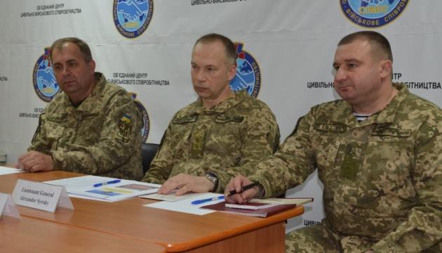 Командувач ООС зустрівся з делегацією Міжнародного комітету Червоного Хреста в Україні