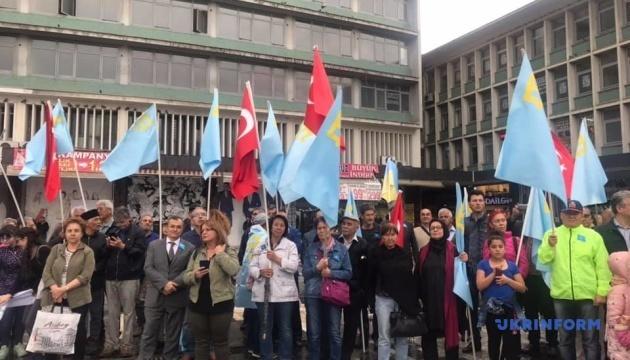 В Анкарі відбувся мітинг до 75-их роковин депортації кримських татар