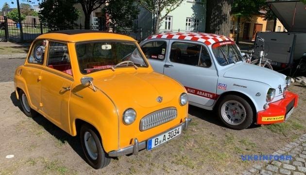 Фестиваль у Німеччині зібрав кількасот ретро-автомобілів
