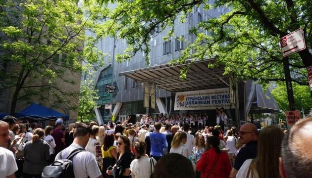 Український фестиваль у Нью-Йорку привітав понад 10 тисяч гостей