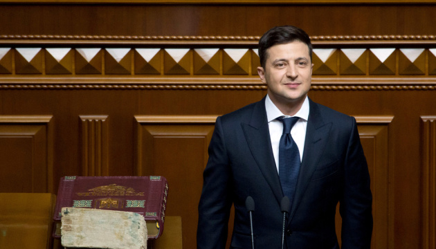 Zelensky: Nuestra primera tarea es alcanzar un alto el fuego en el Donbás