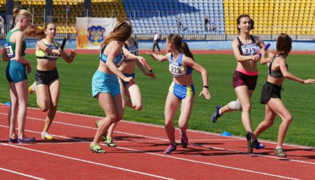В Ужгороді відбувся чемпіонат України з естафетного бігу