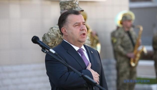 El ministro de Defensa Stepán Poltorak presenta renuncia