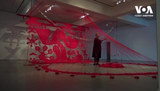 У Каліфорнії триває виставка української художниці Валентини Роєнко