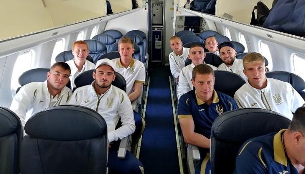 Збірна України U-20 вирушила до Польщі на чемпіонат світу з футболу