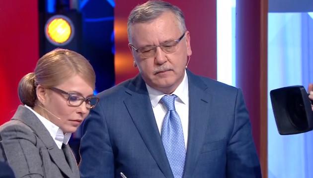 Тимошенко и Гриценко говорят, что готовы к досрочным выборам Рады